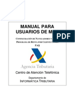 Renta manual para MAC