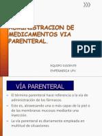 Administracion Medicamentos via Parenteral.ppt