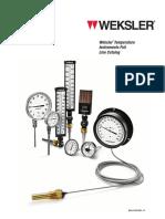 Weksler Temperature Catalog