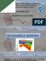 PROSPECCION GEOQUIMICA-2018