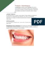 Disertacion Odontolgica