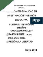 Calero Cerna, J-módulo III-gestión de Diseños Organizacionales