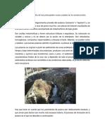 Análisis y Estudio de Las Principales Rocas Usadas en La Construcción