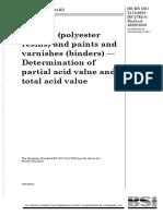 BS en ISO 2114 2000 , Plastics Polyester