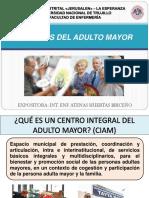 CIRCULO DEL ADULTO MAYOR