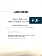 Jacobs Application Forms