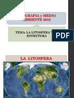 La Litosfera y Su Estructura 2018