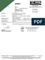 Welder qualification report