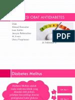 Interaksi Obat DM