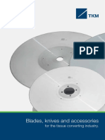 Blades Knives & Accessories for the Tissue Converting Industry