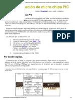 s y experiencias con pic, adquisición de datos con pic, curso de microcontroladores pic, microcontroladores pic, todo sobre pics, conversores ad, electronica pratica, articulos pic, quemador de pics, pics, programar