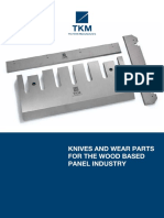 Knives & Wear Parts for the Wood Based Panel Industry
