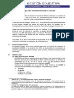 Informe Legal Matricula No Autorizada