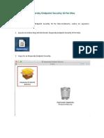 Manual de Instalacion Kaspersky End Point Para Mac