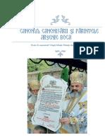Canonul Canonizarii Si Parintele Arsenie Boca