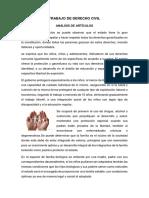 Analisis de Las Garantias de Niños, Niñas y Adolescentes
