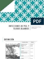 Infeccion de Tej Blandos. Infecto Mary