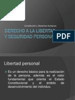 Derecho a La Libertad y Seguridad Personal
