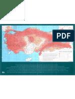'86 deprem bölgeleri haritası