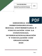 Memoria RSUVC