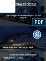 "General Electric ""GE's Imagination Breakthroughs"