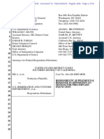 Ms. L et al v ICE et al - Govt's Response to Motion for Preliminary Injunction.pdf