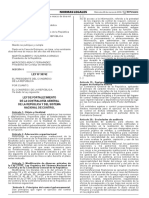 Ley N° 30742  Fortalecimiento de la CGR y del SNC
