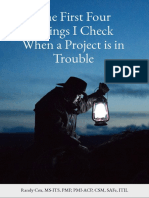 The First Four Things I Check When a Project is in Trouble