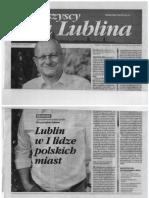 Gazeta Krzysztofa Żuka - Wszyscy Dla Lublina Czerwiec 2018