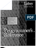 Lahey FORTRAN Program Reference Manual