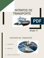 Clase Contrato Transporte Is