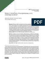 Sebastián Ricardo Cristancho Sierra, Plotino y Grosseteste, El Neoplatonismo en La Cosmología Medieval