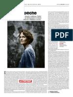 Claire Nouvian Garde La Pêche - Portrait Libération 2018 06 27