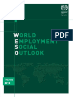 World Employment Social Outlook - Trends 2018 - ILO