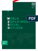 World Employment Social Outlook - Trends 2018 - ILO - Executive Summary