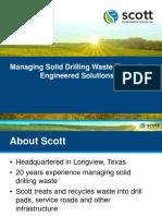 Scott Managing Drlg Waste