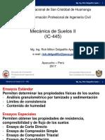 Clase 01 MECÁNICA DE SUELOS II UNSCH