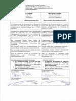 Genehmigung Bilanz Hauptausschuss 2016