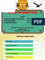 Presentation Operasi himpunan