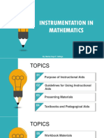 1. Instrumentation