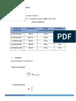 Tabulacion de Datos Reynolds