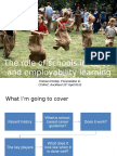 The Role of Schools in Career and Employability Learning (1)