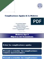Complicaciones Agudas de La Diabetes Curso UA