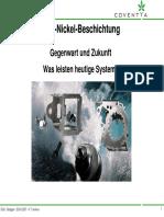 2007 04 26 Vortrag Zink Nickel Beschichtung Gegenwart Und Zukunft