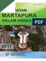 Kecamatan Martapura Dalam Angka 2017