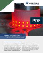 VITRONIC VINSPEC Roboterpruefzelle Optische Oberflaechenpruefung