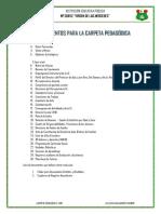 Carpeta Pedagogica Luisa Las Mercedes2018mercedes