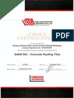 Cmacs Certification