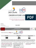 L'étude de l'Observatoire LGBT+ de la fondation Jean-Jaurès