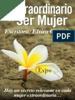 Lo Extraordinario de Ser Mujer_ - Elvira Gurrola